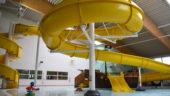Meridian Leisure Centre Flume Water slide Louth Lincolnshire
