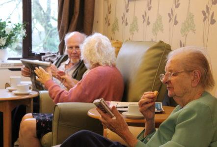 Feeding Memories, Dementia, Care Home, Lincolnshire