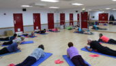 Stretching, Floor work, Exercise Classes, Skegness Pool & Fitness Suite, Skegness, Lincolnshire