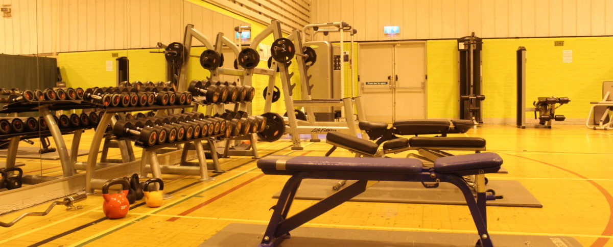 Weights Area, Gym, Station Sports Centre, Mablethorpe, Lincolnshire