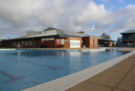 Skegness Pool & Fitness Suite, Skegness, Lincolnshire from outdoor pool