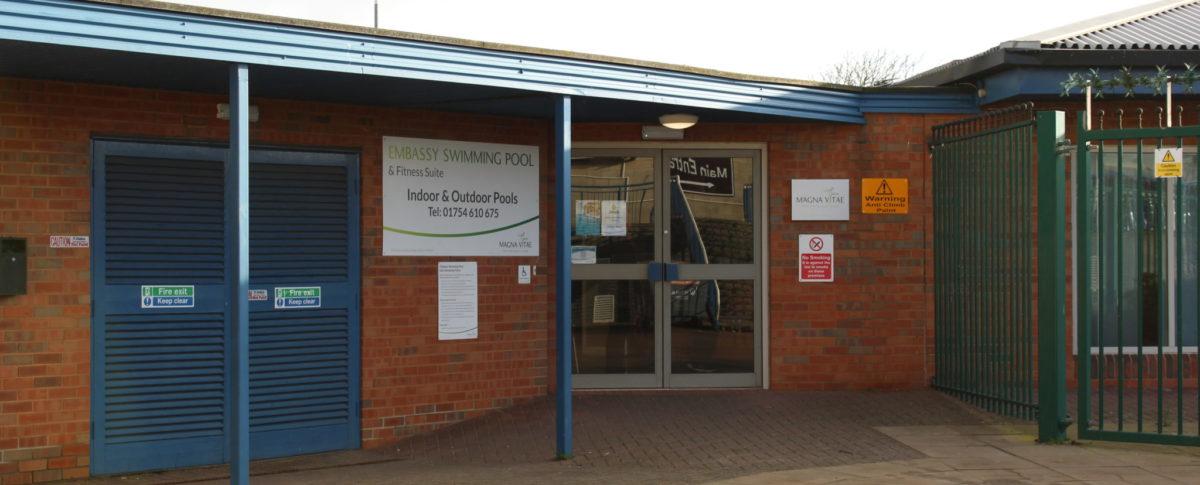Entrance Skegness Pool & Fitness Suite, Skegness, Lincolnshire