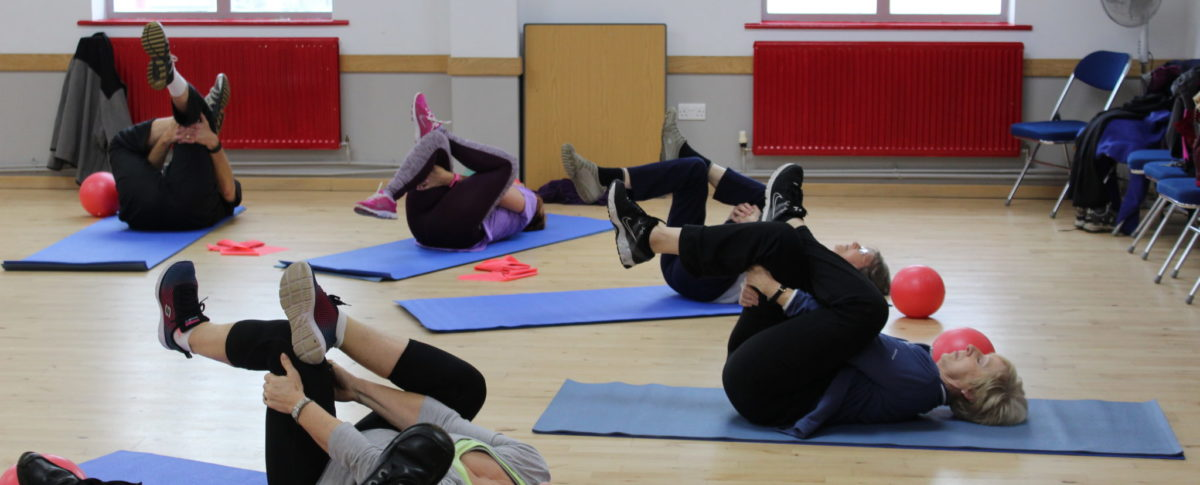 Stretching, Exercise Classes, Skegness Pool & Fitness Suite, Skegness, Lincolnshire