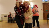 Christmas Party, Dementia Cafe, Trinity Centre, Louth, Lincolnshire