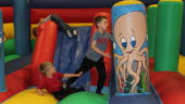 Holiday Activities, Meridian Leisure Centre, Louth, Lincolnshire, Sports, Crafts, Bouncy Castle