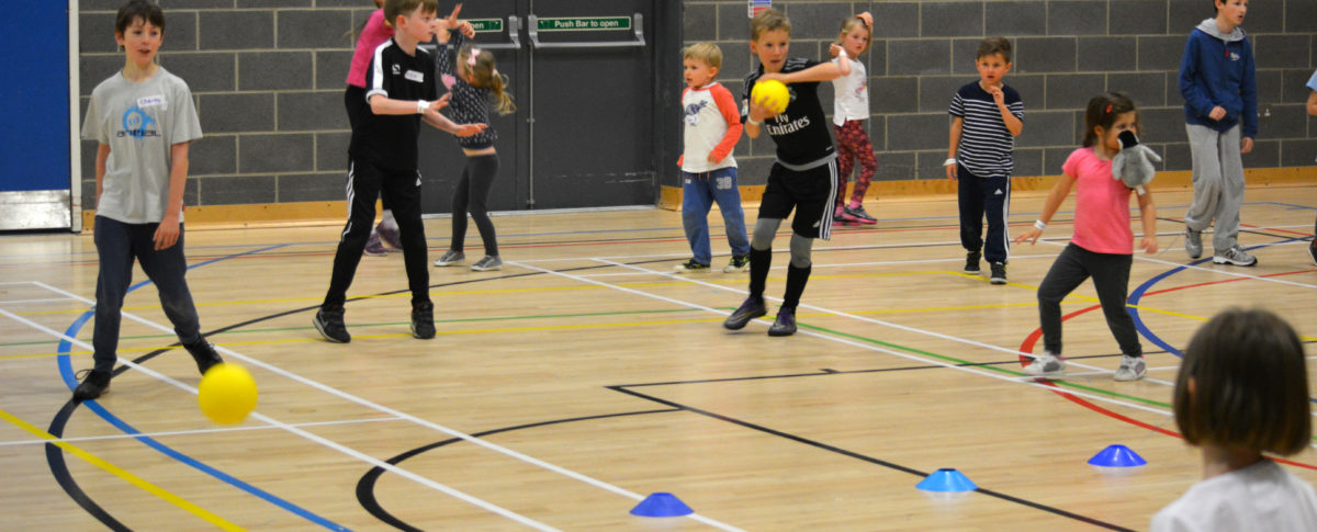 Dodgeball Holiday Activities Meridian Leisure Centre Louth Lincolnshire
