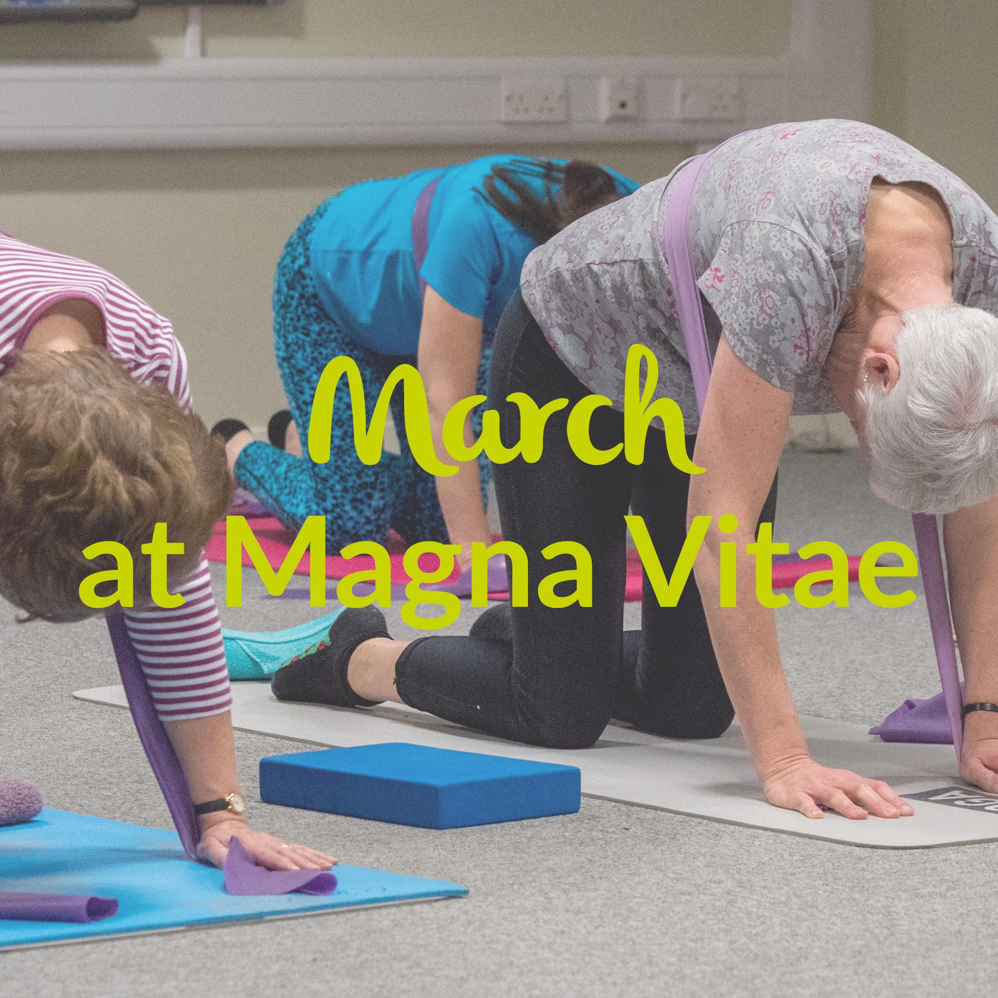 March At Magna Vitae Magna Vitae